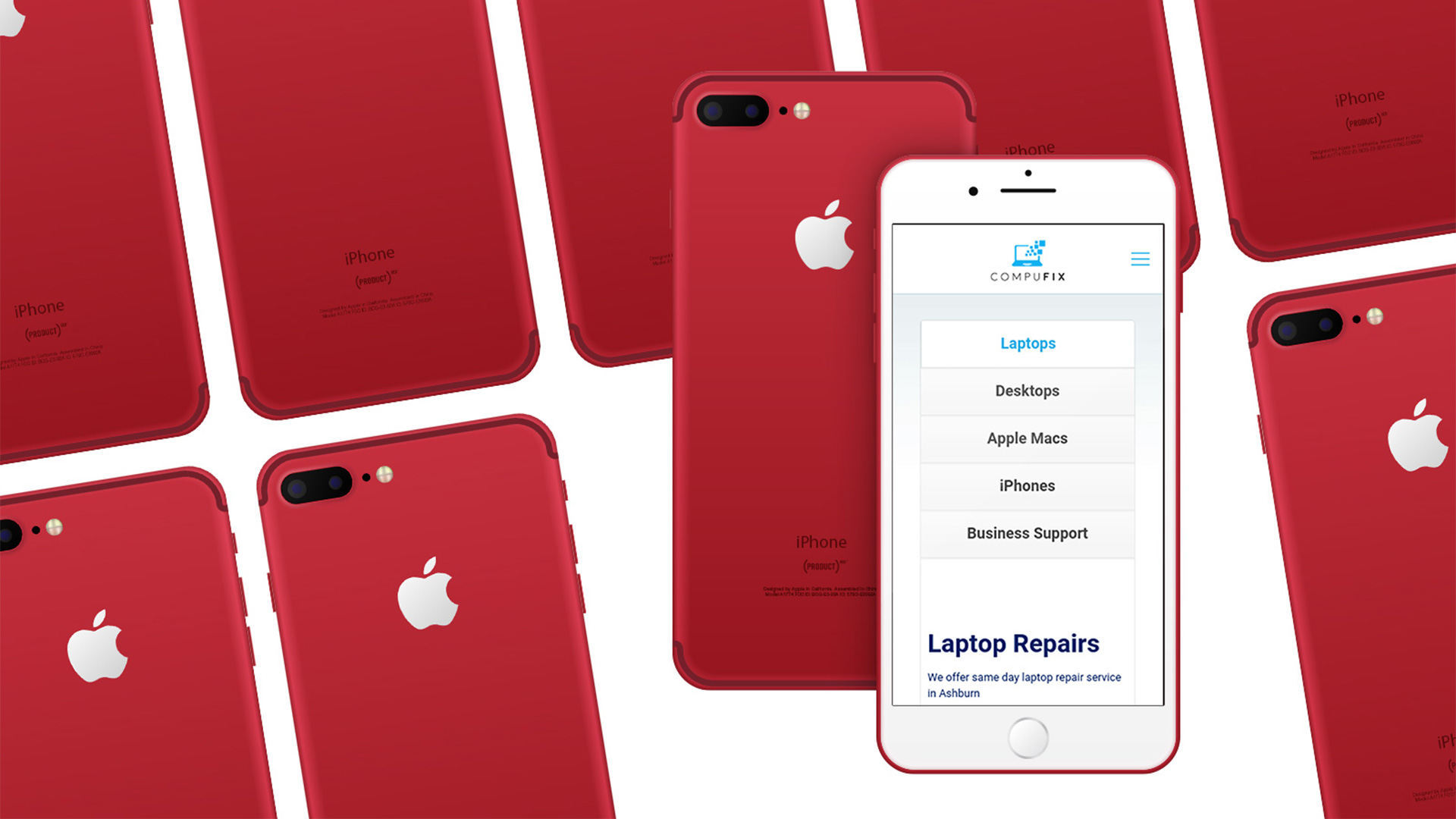 Compufix can help you with all your Apple products. If you need your Mac setting up or have a broken your iPhone screen or Apple Mac has stopped working, we're here to help. We are iPhone experts
